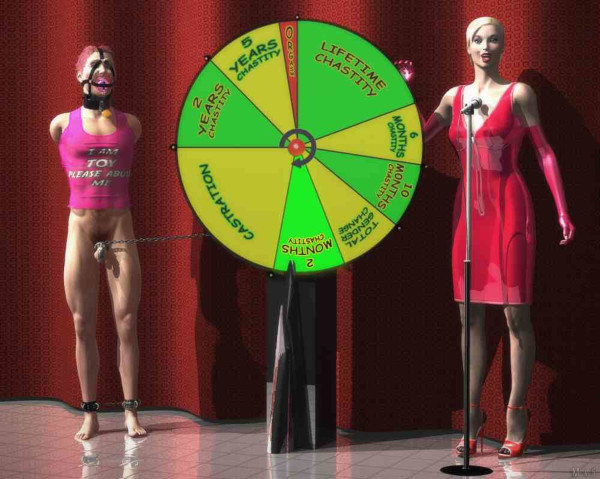 chastity spin the wheel